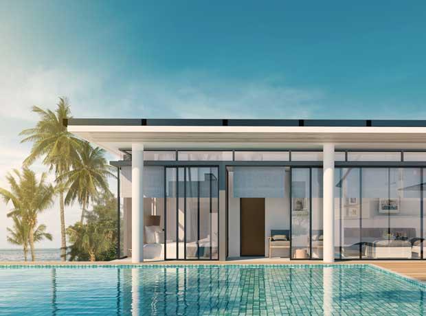 Minimalist Design Villa Bali