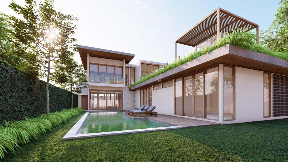 Minimalist Design Villa