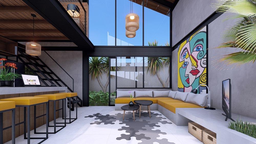 Industrial Design Villa Bali