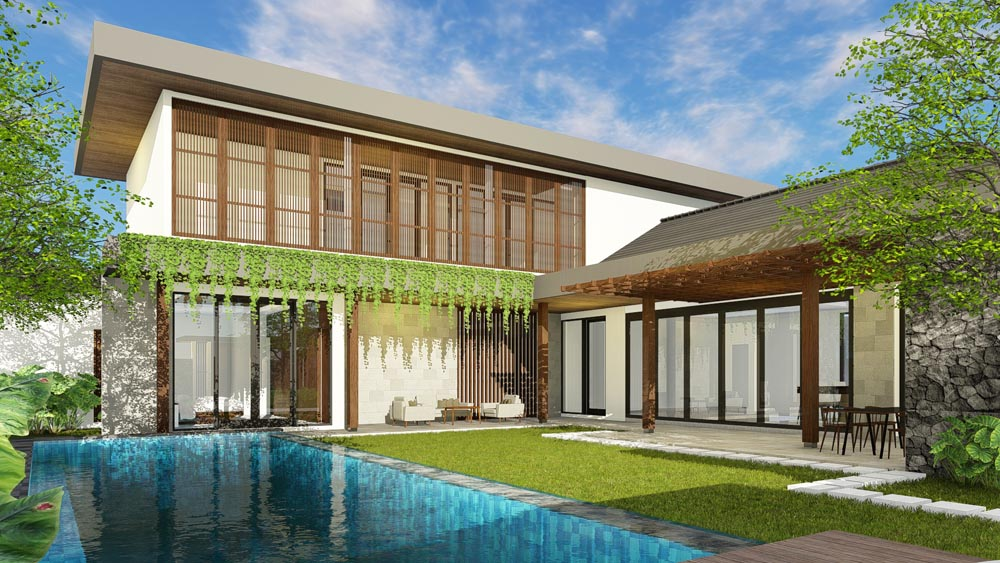 L-Shape Villa